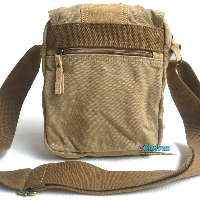 Khaki Small Shoulder Bag Black Men