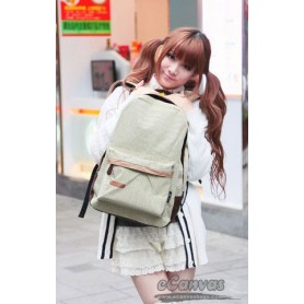 ladies beige school backpack