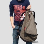 Canvas hobo backpack, boys backpack, travel purse 5 colors