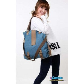 Money Bag Handbag Blue