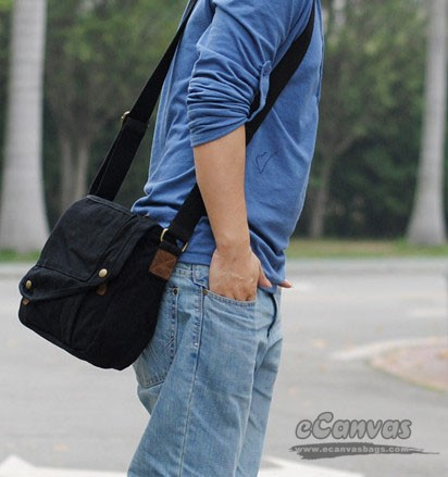 Mini messenger gadget bag, small messenger bag for men, slim ...