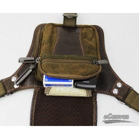 khaki belt bag for mens