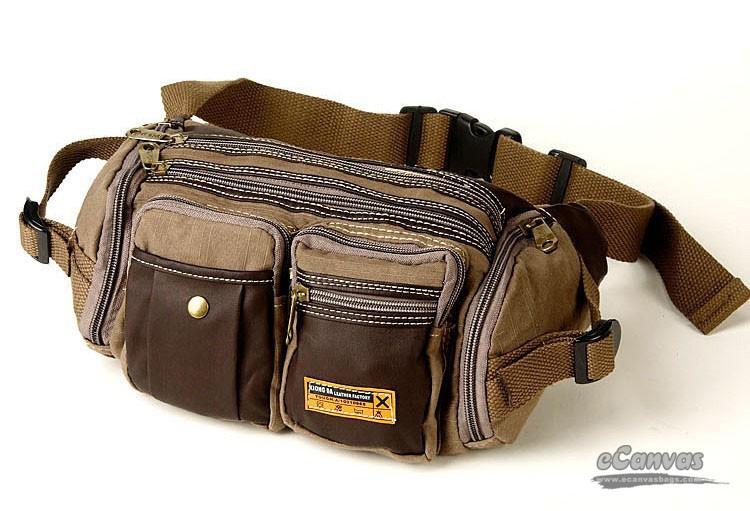 Best Camera Waist Pack Khaki Belly Pack Black Bum Bag