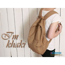 khaki book bag