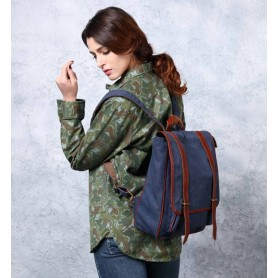 blue Cheap daypack