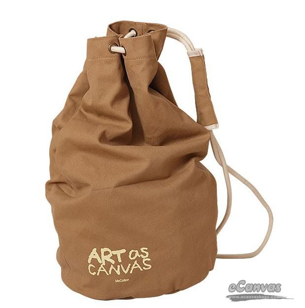 Canvas drawstring bag, canvas duffle bag for men, backpack handbag ...