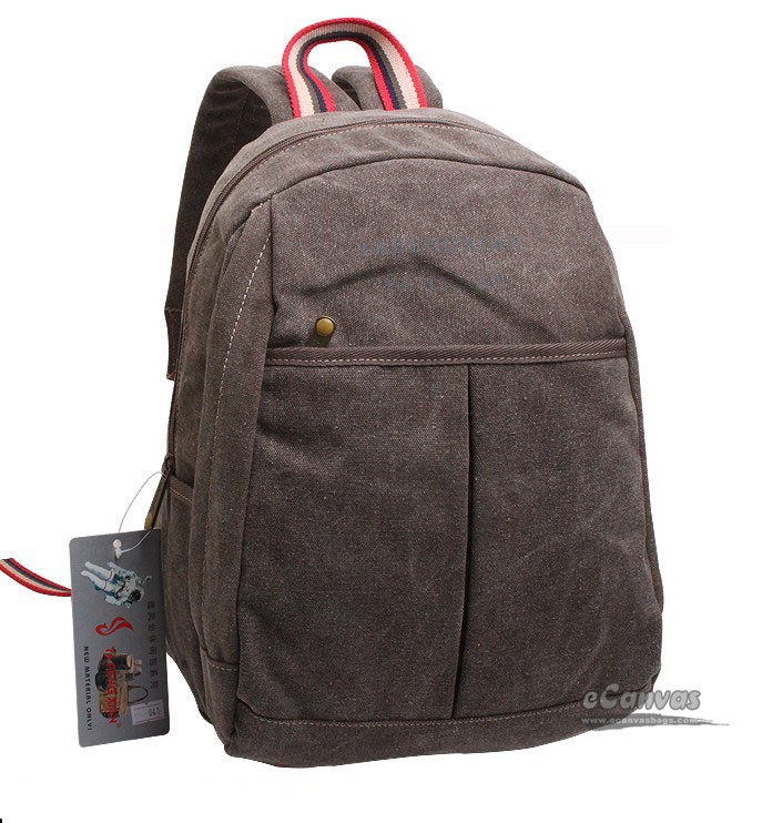 Model Women Leather Backpack Leather Book Bag Backpack Purse