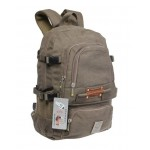Campus pack, recycled day pack, canvas knapsack