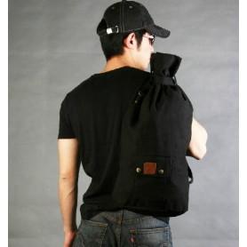 black Unisex hiking rucksack