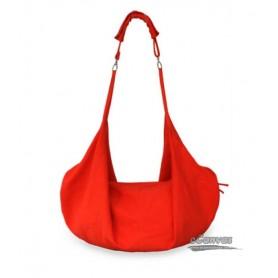 Spring canvas shoulder women bag, Messenger bag, 5 colors