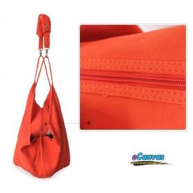 Spring canvas shoulder women bag