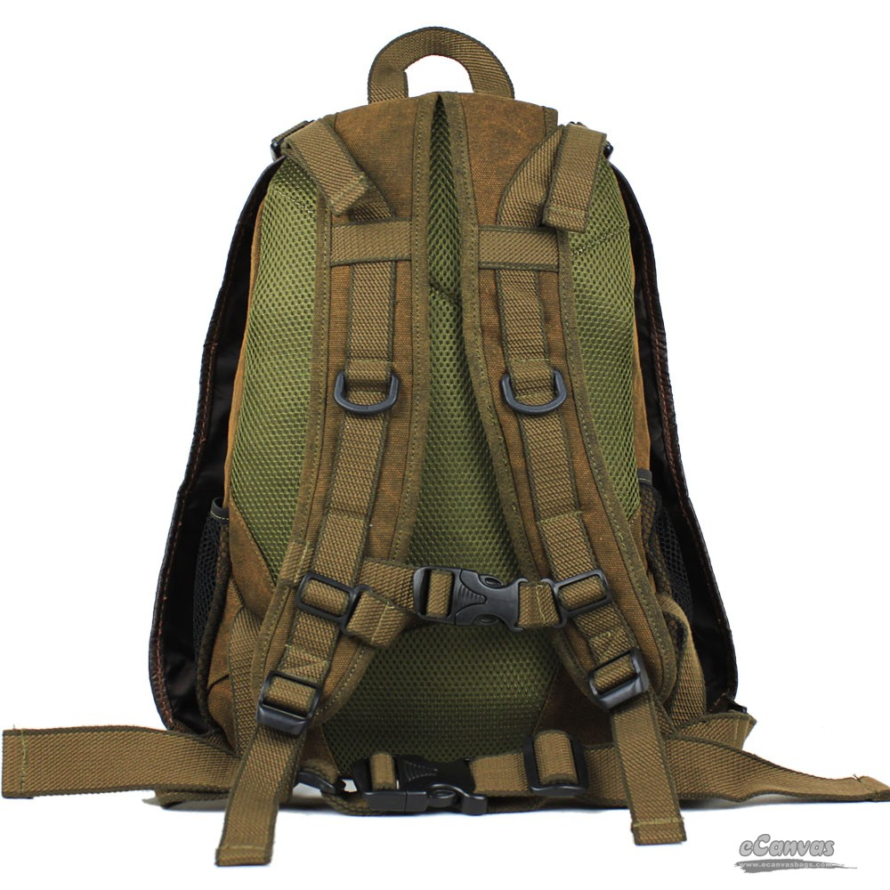 Army Backpack Army Rucksack Khaki Back Pack Books E