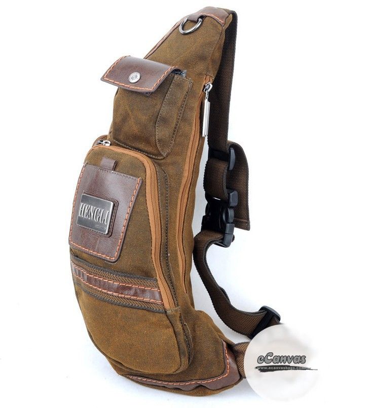 One Strap Backpack One Shoulder Strap Backpack Over The