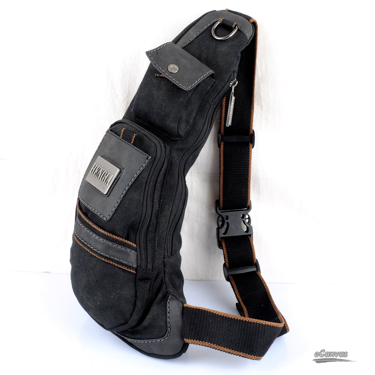 One strap backpack, one shoulder strap backpack, over the shoulder ...