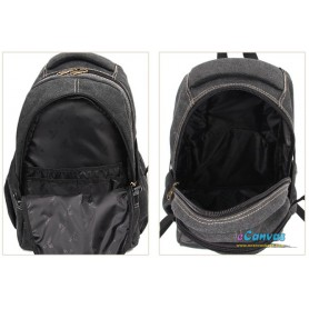 black bicycle travel bag
