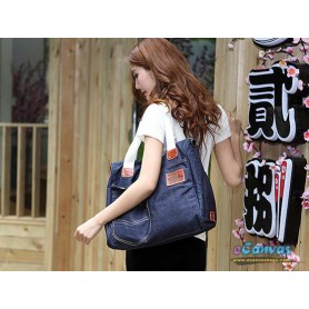 ladies denim handbag