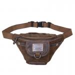 Travel shoulder bags women, canvas sport shoulder bag, khaki satchel bag