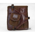 Shoulder bag for men, over the shoulder travel bag, vintage travel bag