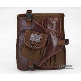 Shoulder bag for men, over the shoulder travel bag, vintage travel bag
