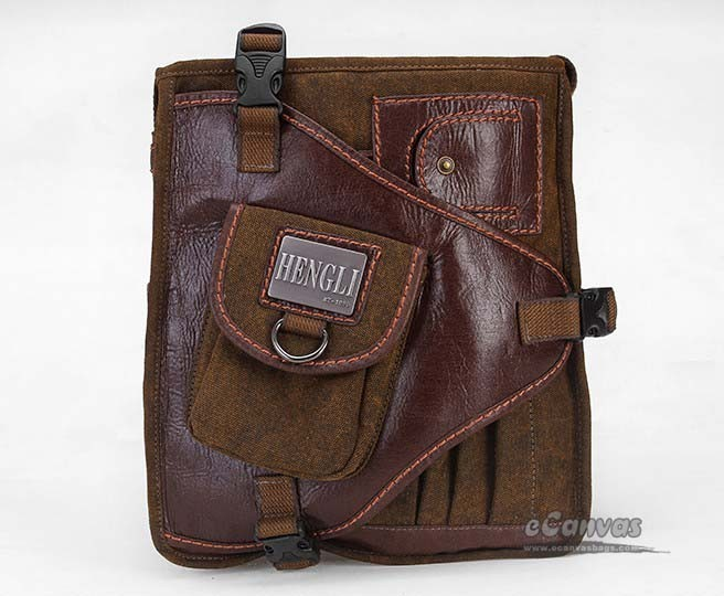 Shoulder bag for men, over the shoulder travel bag, vintage travel ...