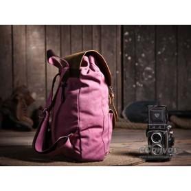 pink sturdy backpack