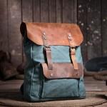 Professional backpack, pink retro backpack, coffee sturdy backpack