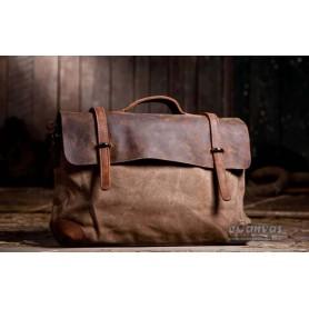Awesome messenger bag army green, best messenger bag for women, khaki canvas shoulder bag