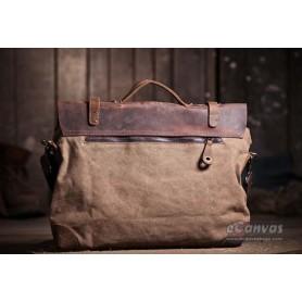 khaki best messenger bag for women