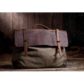 Awesome messenger bag army green