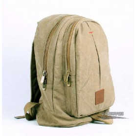 khaki backpack for laptop