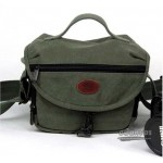 Light green canvas photography bag