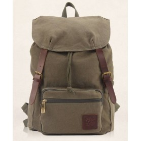 army green Cute girl backpack