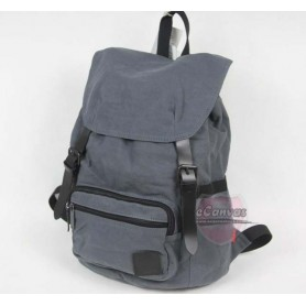 navy Cute girl backpack
