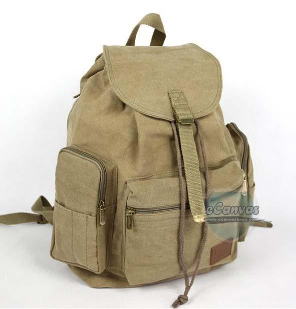 Canvas Day Backpack Black Daypack Backpack Navy