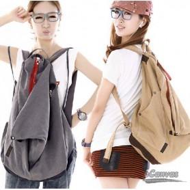 Canvas backpack for girls blue, black best school backpack, coffee book backpack