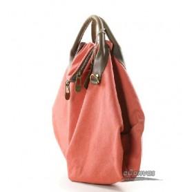red purpose bag