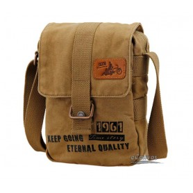 khaki school messenger bag for girls