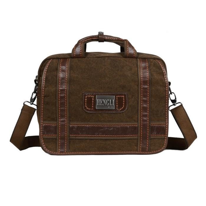 Best mens briefcases, khaki briefcase bag, men business bag - E ...