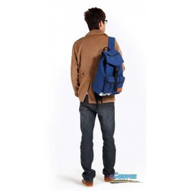 mens Blue backpack