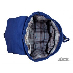 womens Blue backpack