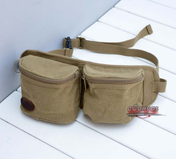 canvas hip pack