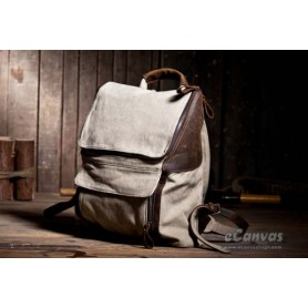 beige Personalized backpack