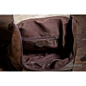 beige quality backpack