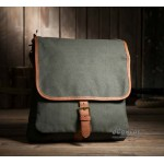 Canvas vertical case, canvas messenger bag men, sport tote bag