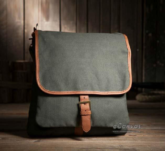 f12091bc0 Canvas vertical case, canvas messenger bag men, sport tote bag - E ...