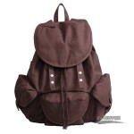 Leisure canvas backpack