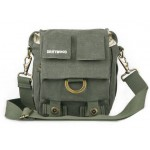army green camera bag