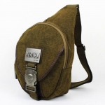 Chest bag, 1 strap backpack, khaki backpack single strap