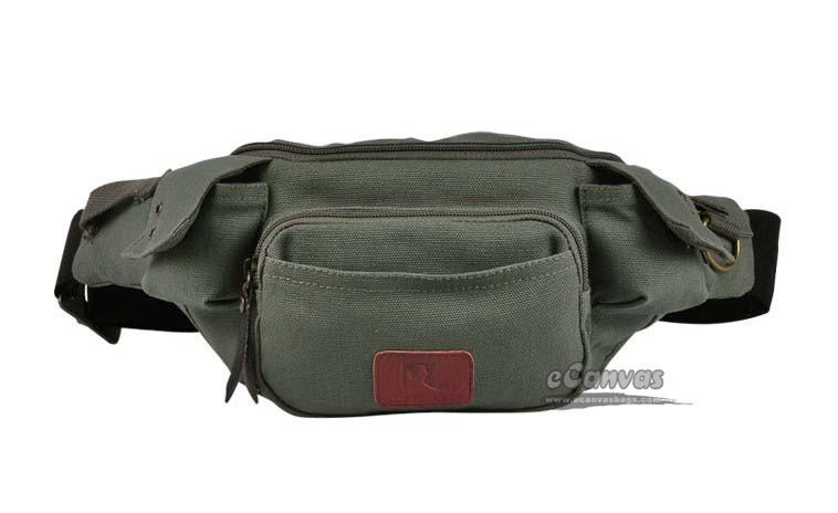 Crazy Horse leather men fanny pack unisex designer brand women fashion waist pouch pochete cintura casual