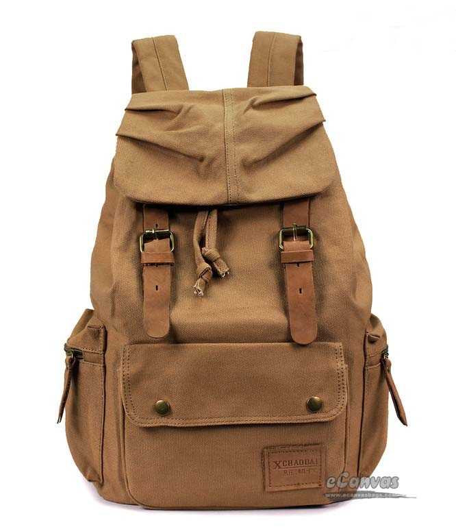 Recycled backpack, retro backpack